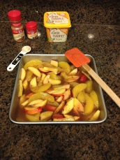 Peach Cobbler step 2