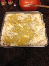 Peach Cobbler step 4