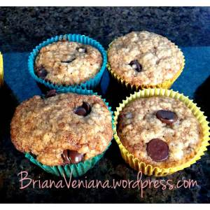 Brown Sugar muffins - 4 muffins