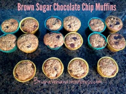Brown Sugar Muffins - Final Pic